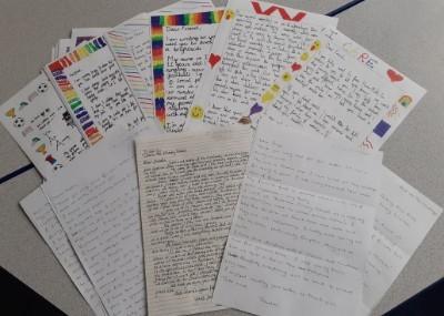 Helsby Horns Mill School letters